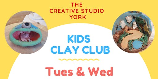 Children's Clay Club Tuesday