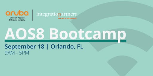 Aruba A0S8 Bootcamp   Orlando, FL