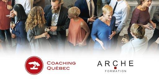 Célébration de l'alliance Coaching Québec et  A.R.C.H.E  Académie d'hypnose