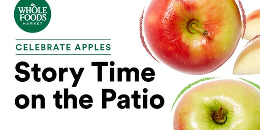 Celebrate Apples:  Story Time on the Patio