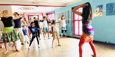 Family Bollywood Dance Workshop