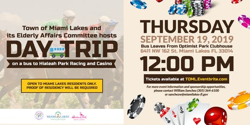 Day Trip to Hialeah Park Racing & Casino