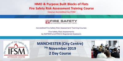HMO and Purpose Built Blocks of Flats Fire Risk Assessment Training Course.