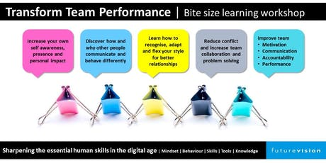 Transform Team Performance | Developing the Human Skills in the Digital Age tickets
