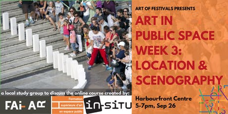 CREATE in Public Space: Toronto Session #3 - Location & Scenography tickets