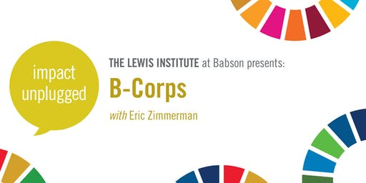Impact Unplugged: B-Corps