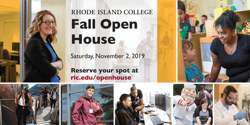 Open House Fall 2019 - Rhode Island College