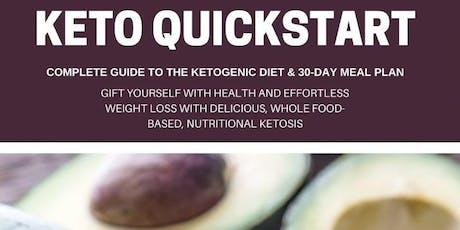 KETO / Intermittent Fasting - Quick Start 4 Week Program  tickets