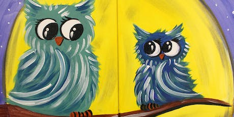 Family Fun Creative Canvas - Moonlight Owls tickets