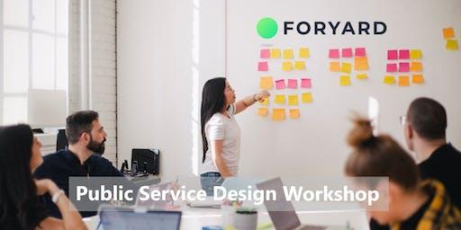 Public Service Design Workshop – Innovatie in je dagelijkse werk