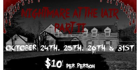 Nightmare at Lair: Part 2 tickets