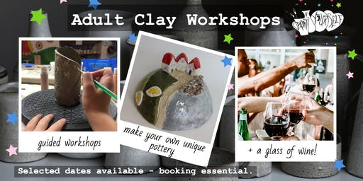Adult Clay Workshop: Tiny Towns
