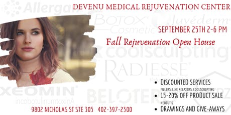 Fall Rejuvenation Open House tickets