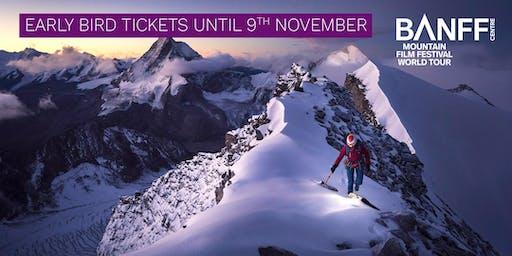 Banff Mountain Film Festival - London - 16 March 2020