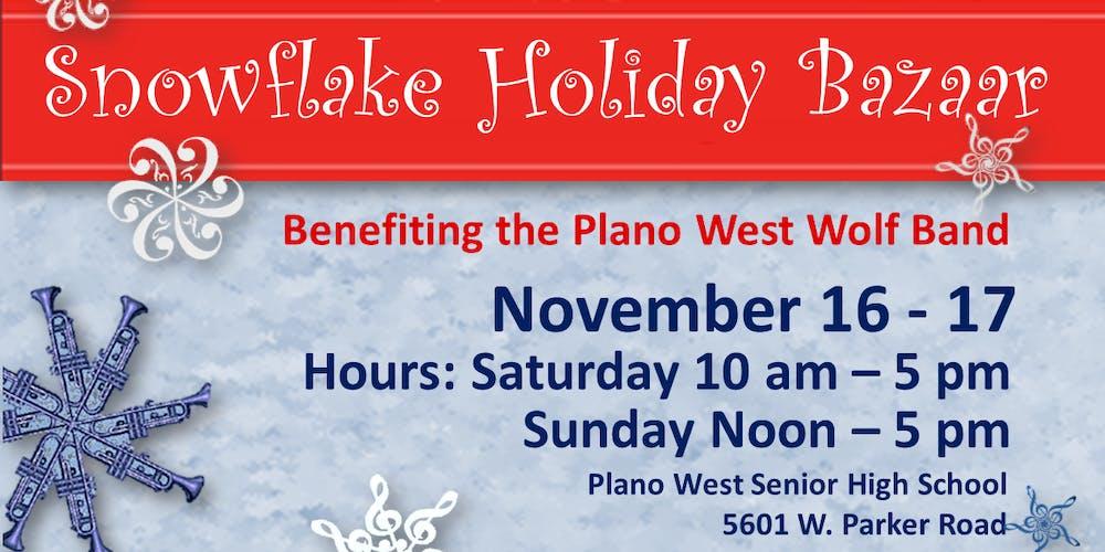 Snowflake Holiday Bazaar Tickets, Multiple Dates   Eventbrite