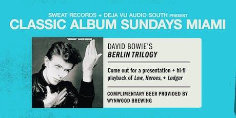 Classic Album Sundays: David Bowie's Berlin Trilogy tickets