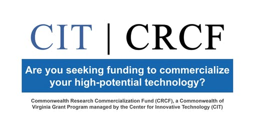 FY2020 CRCF Funding Opportunities | BRIEFING | Danville, VA