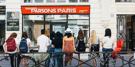 Parsons Paris Open House 2019 tickets