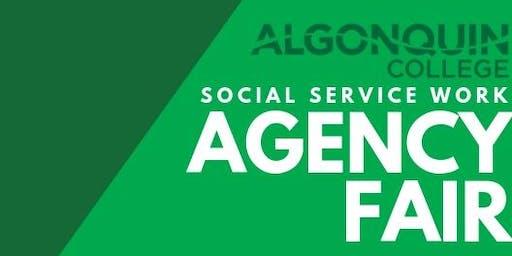 2019 Social Service Work Agency Fair