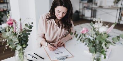 Hand & Brush Lettering Workshop für Anfänger