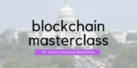 The Blockchain Masterclass + Certificate @ DC tickets