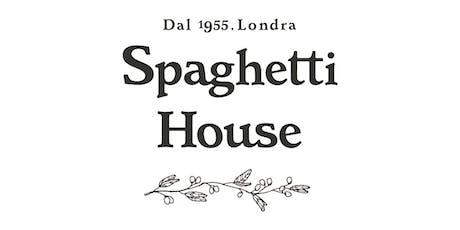 Spaghetti House Italian Supper Club tickets