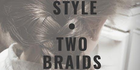 CLT Hair Workshop: Two Braids tickets