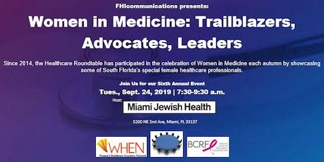 Women in Medicine 2019 tickets