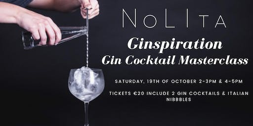Ginspiration: Gin Cocktail Masterclass