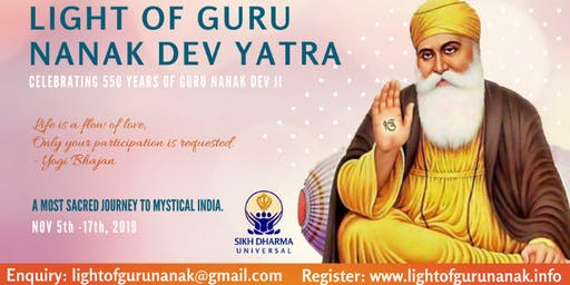 Light of Guru Nanak Dev Yatra