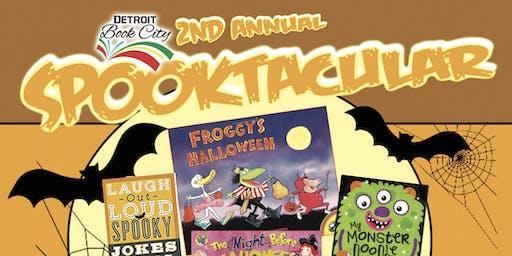 Detroit Book City 2nd Annual Spooktacular Bookkkkdrive!