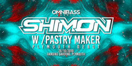 Omnibass Presents: Shimon w/ Pastry Maker [Ram / Audioporn] tickets