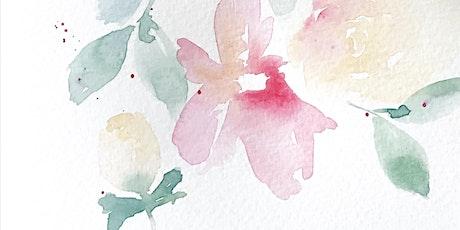 Loose Watercolor Florals Workshop Tickets