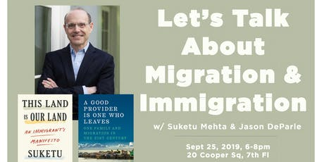 Let's Talk About Migration & Immigration tickets