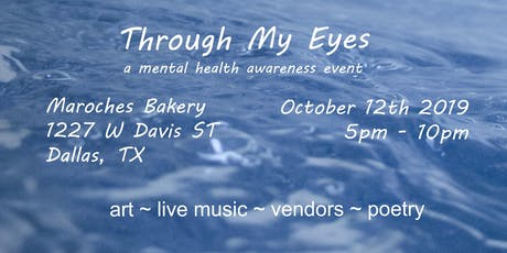 Through My Eyes - a mental health awareness event tickets