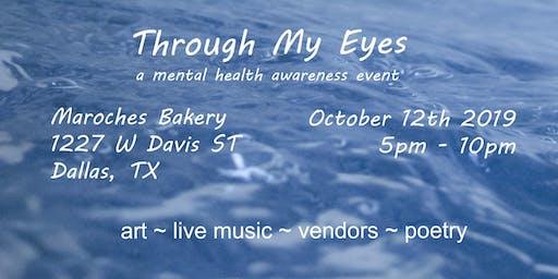 Through My Eyes - a mental health awareness event