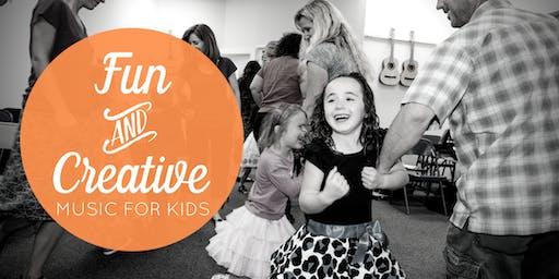 Dec. 7 Free Music Class for Kids (Centennial, CO)