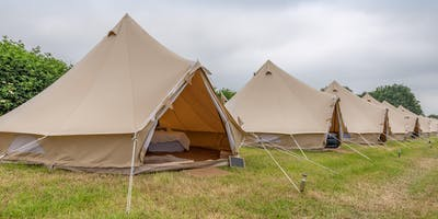 Luxury Glamping at Essex Sausage & Cider Music Festival 2020