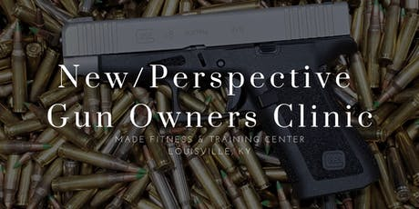 New/Perspective Gun Owners Clinic tickets