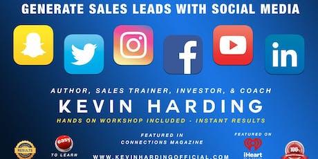 Sales Generation Thru Social Media ! tickets
