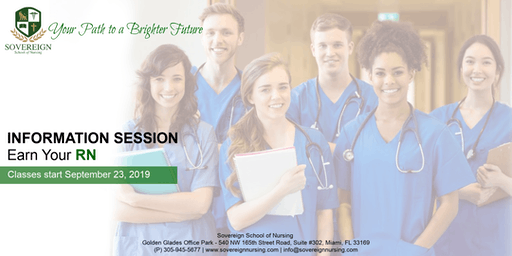 Earn Your RN | Information Session | Sovereign School of Nursing