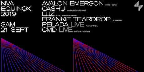 NVA Equinox 2019: Avalon Emserson, Cashu, Pelada and more. tickets