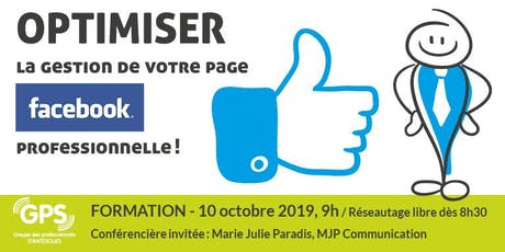 Facebook professionnel tickets