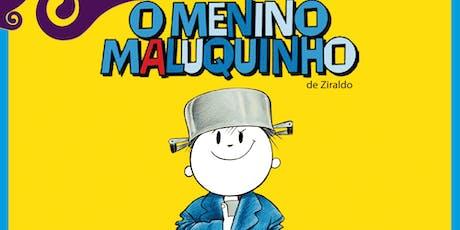 Desconto: O Menino Maluquinho, no Teatro Dr Botica ingressos