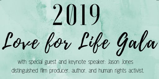 2019 Love for Life Gala with Jason Jones