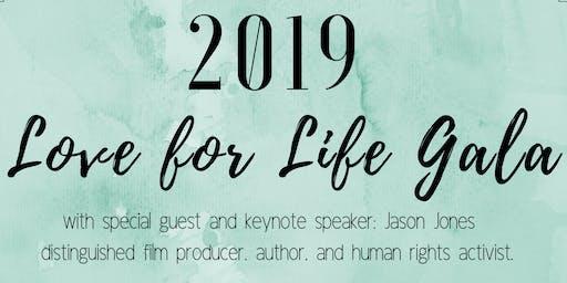2019 Love for Life Gala with Jason Jones