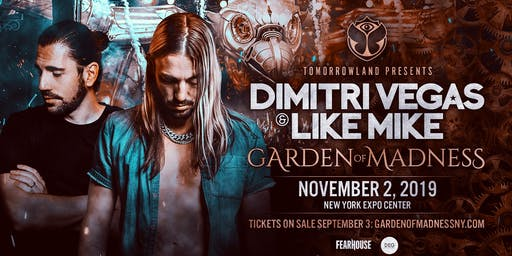 Tomorrowland Presents: Dimitri Vegas & Like Mike - Garden of Madness