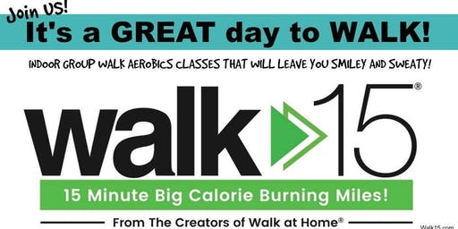 45 min Walk Aerobics (Walk15) group fitness