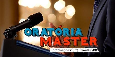 Curso Intensivo de Oratória Master ingressos