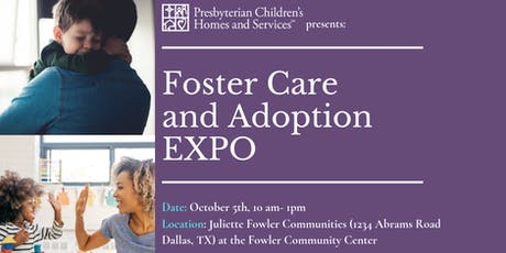 Foster Care and Adoption EXPO tickets